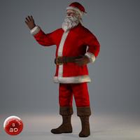 Santa Claus (Posed)