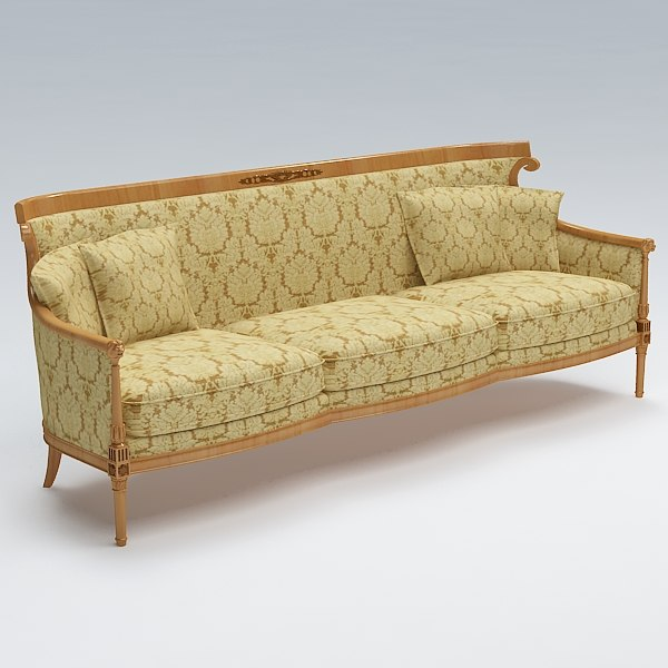 Old fashioned sofa old fashioned sofa and 2d art sharecg for Old fashioned couch