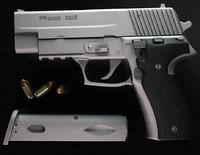 3d 3ds sig-sauer p226 gun