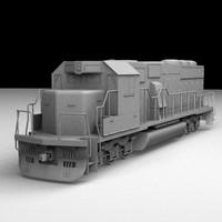 maya railroad rail engine