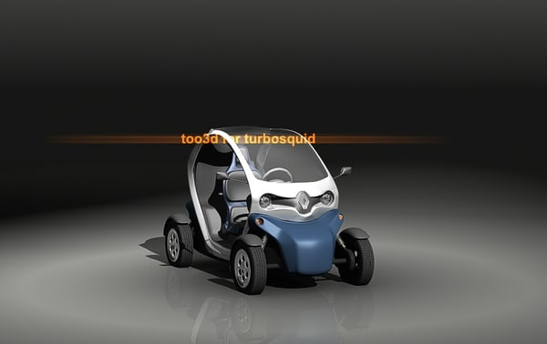 maya twizy renault greeny - twizy... by too3D