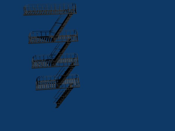 free blend mode escape - Fire Escape... by zachloar