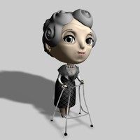 old lady dxf