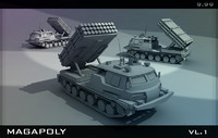 3ds max tank armored