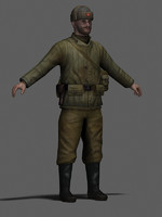 max character russian military