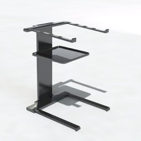 laptop stand dj 3d 3ds