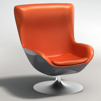 3ds realistic armchair