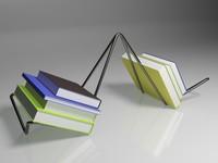 3d model book holder