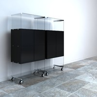 Gallotti & Radice box filing cabinet by Pierangelo Gallotti