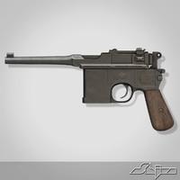 3d gun mauser c96