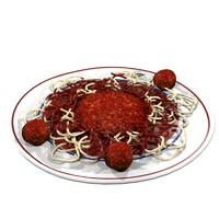 maya meatballs spaghetti