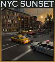 New York City_SUNSET_Scene