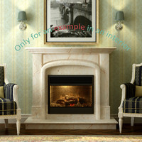 3d fireplace 09 model