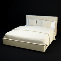 3d model baker paris bed 7827-06