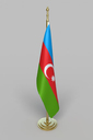 Azerbaijan Flag 3D models