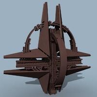 3d model nato monument