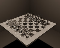 free chess 3d model