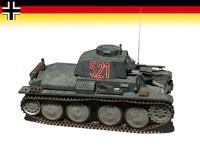 3d lwo 38 t tank armor