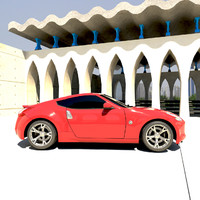 nissan 370z fairlady car lwo
