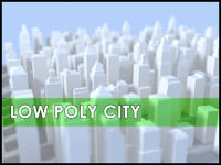 3d city buildings cityscape