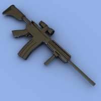 3d m4a1 assault rifle