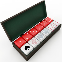 obj poker dice box