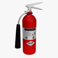 extinguisher obj