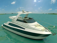 3dsmax carver yacht