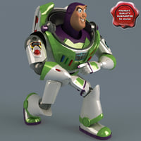 buzz lightyear pose 4 3d max