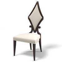 Christopher guy dining chair modern contemporary 30-0025 designer art deco