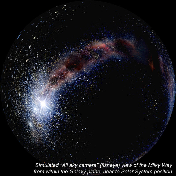 milky way home galaxy 3d model - Milky Way Galaxy. Our Space Home.... by ScientificPrecision