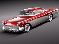 3ds max buick roadmaster 1957 luxury