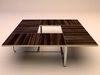 Wood & Steel Table