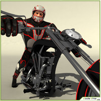 Biker Chooper Go Kart Package