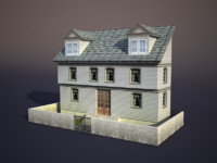 house apartment 3d obj