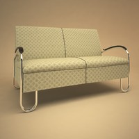 Gispen 444 sofa and chair