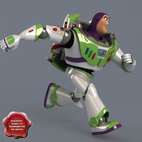buzz lightyear pose 5 3d model
