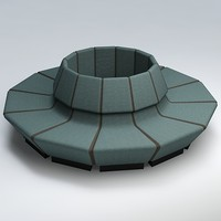 3ds max chair waiting