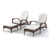 Dedon Tango Beach chair set
