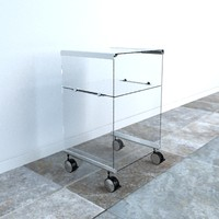 3d glass storage unit pierangelo