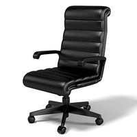 Knoll office seating sapper executive task chair swivel modern leather contemporary boss