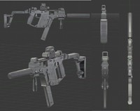 Kriss Vector gun model