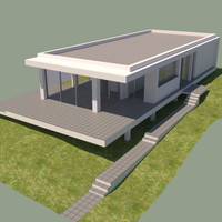 3d house contemporary
