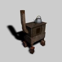 3dsmax oven kettle