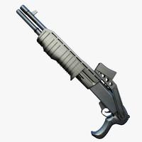 3d max franchi shotgun