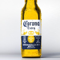 corona beer bottle 3d obj