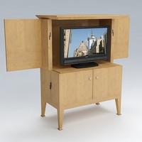 tumb tv 3d model