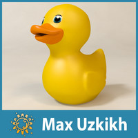 rubber duck 3d max