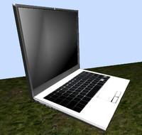 laptop 3d 3d 3ds