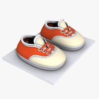 Cartoon Shoes 02 (5 texture variations)